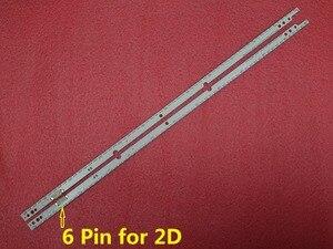 Image 2 - Neue 2 teile/satz 60LED 572mm led hintergrundbeleuchtung streifen für Samsung UE46ES5500 SCHLITTEN 2012SVS46 7032NNB RIGHT60 LEFT60 2D