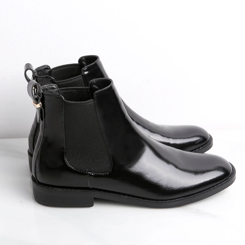 Women Boots Fashion Designer Footwear Elastic Band Ankle Boots Genuine Leather Shoes Woman Sexy Ladies Shoes Black Wine Red elastic band women genuine leather ankle boots chelsea hand made shoes motorcycle coincise fashion black matte women s boots