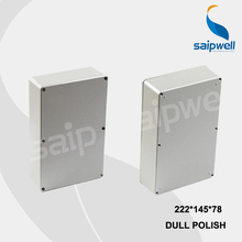 222*145*78mm Size Industrial Waterproof Aluminium Box / Electrical Aluminium Enclosure With CE,ROHS