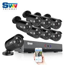 8CH 1080N HDMI H.264 DVR Security Video Surveillance System+8pcs 720P 1800TVL HD Outdoor Weatherproof IR AHD CCTV Camera Kit