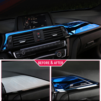 car air outlet For BMW F30 3 Series 2013- Car Styling Car AC Air Conditioner Vent Outlet Decoration interior Cover Sticker Auto Accessories (3)