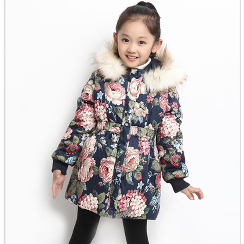 Children's Clothing Girls Outerwear Coat Thick Cotton Hooded Jacket  Kids Wear Fashion Winter Coats for Boys  Outerwear & Coats