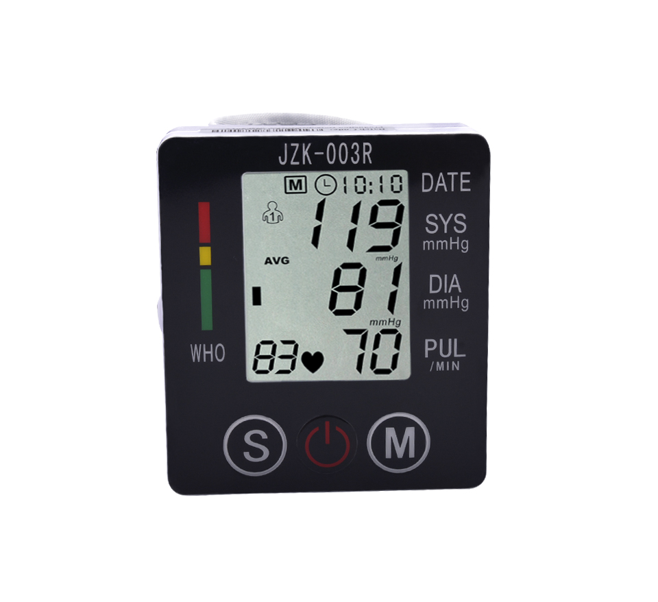 Blood Pressure Monitor Sphygmomanometer Blood Pressure Meter Pulse Digital Wrist Automat ...