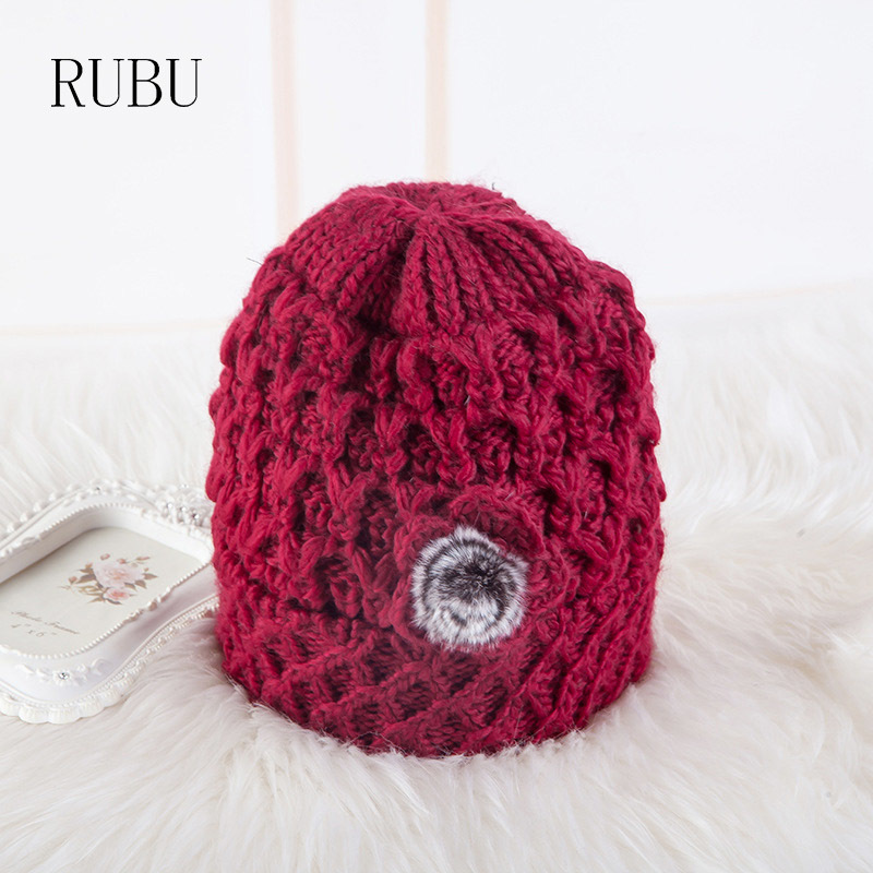 d2f871825c Winter hat granny earmuffs Baotou cotton cap fashion warm twist personalized  knit hat Skullies Bonnet beanie Hat-in Skullies   Beanies from Apparel ...