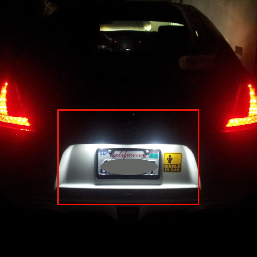 Super Bright SMD OEM Replacement LED License Plate Light Lamps - Acura license plate