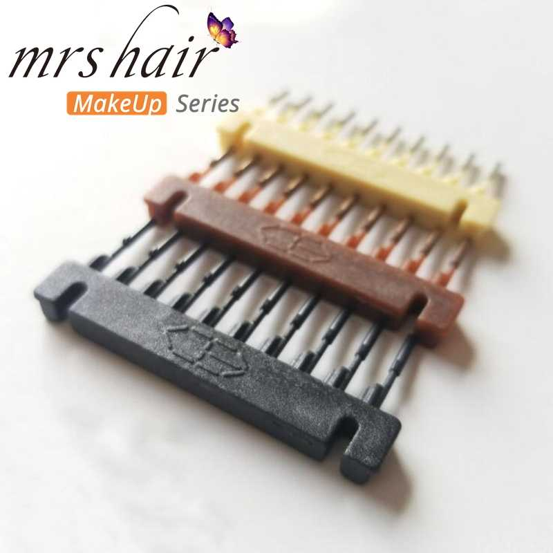 Professional 6D Hair Extensions Tool  6D hair clips Hair extension Artifact three color available 40pcs/lot