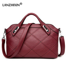 Lanzhixin Fashion Top-handle bags handbags women famous brands female Stitching casual women shoulder bags luxury Tote bags 5011
