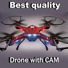Envío Libre! Actualiza JJRC H12C DFD F181 FPV Quadcopter Drones con opcional cámara HD de 5.0MP Cam Una Tecla de Retorno Automático FSWB D8