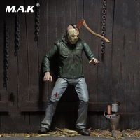 Collectible Deluxe Edition Figure Model Toys 7 Anime Figure NECA PVC Jason Voorhees Friday Ultimate Murderer Horror Version