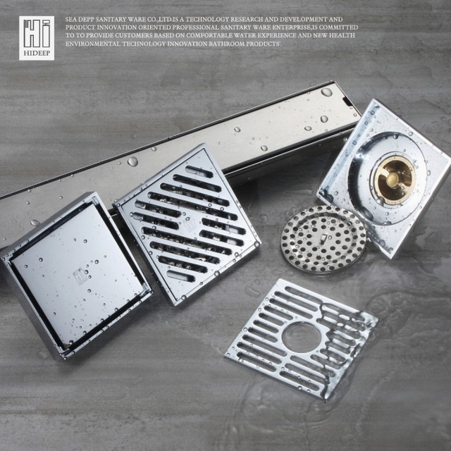 Hideep Floor Drain Cover Waste Drainer Washing Drainer Dedicated Shower Floor Grate Drain Brbathroom Kitchen