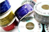 Fil électrique de haute qualité Emballage Wire Wrap 10 Couleurs Simple brin de cuivre AWG30 Câble OK Fil & PCB Fil