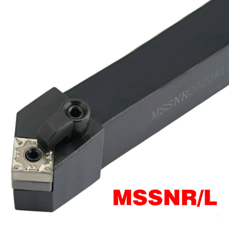 Lathe Turning Tool Holder MSSNR 3232P12 Carbon Steel Right Hand 45 Degree Replacement Metalworking High Quality