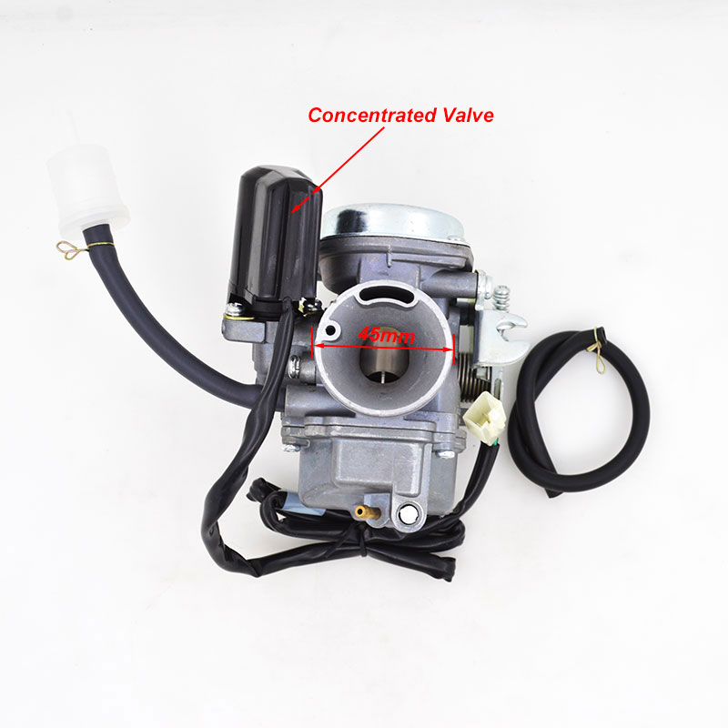 Motorcycle Carburetor for Honda SCV 100 LEAD SCV 100 2002 2010 Scooter Moped With Concentrated Valve
