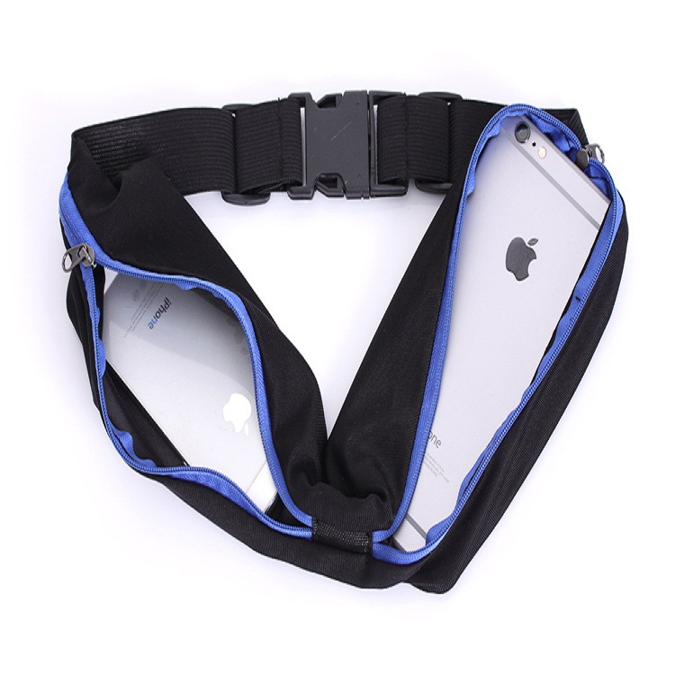 Adjustable Outdoor Waterproof Men Women Running Waist Pack Mobile Phone Holder Jogging Sports Running Waist Pack