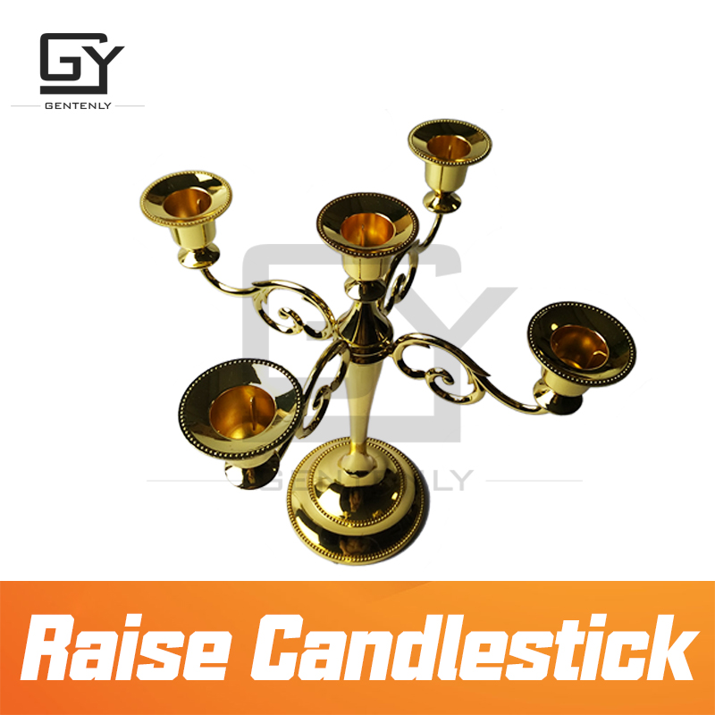 Escape room prop Raise Candlestick Prop raise the wireless Candlestick to unlock 12V lock escape game