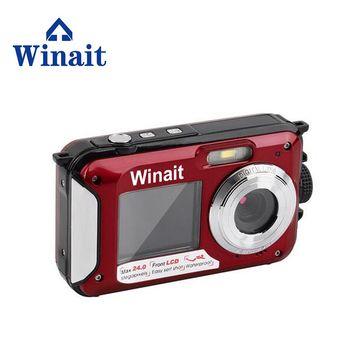 Full HD 1080P Photo Camera Digital Max 24MP 3M Under Water Camera Disposable Digital Camera DC-16 With Double Screen