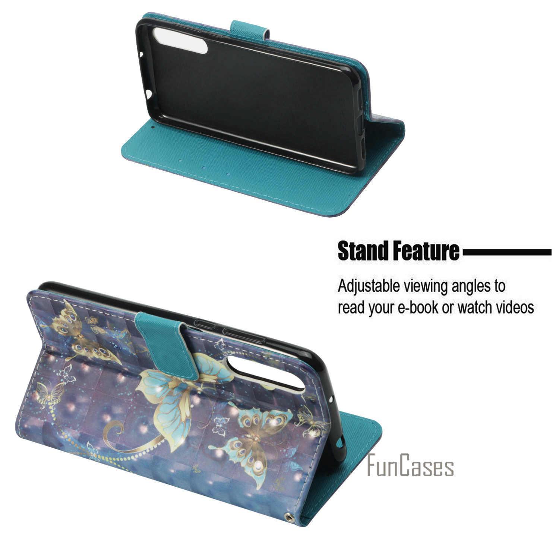 حافظة لهاتف Coque Huawei P20 Pro حافظة لهاتف Coque Huawei P20 Pro حافظة 5.9 بوصة + حامل بطاقة Hauwei Estuche