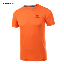 2019 Men Running T-Shirt Soccer Jerseys Survetement Football Kits Quick Dry Table Tennis Badminton Sports Shirts Tops Tees