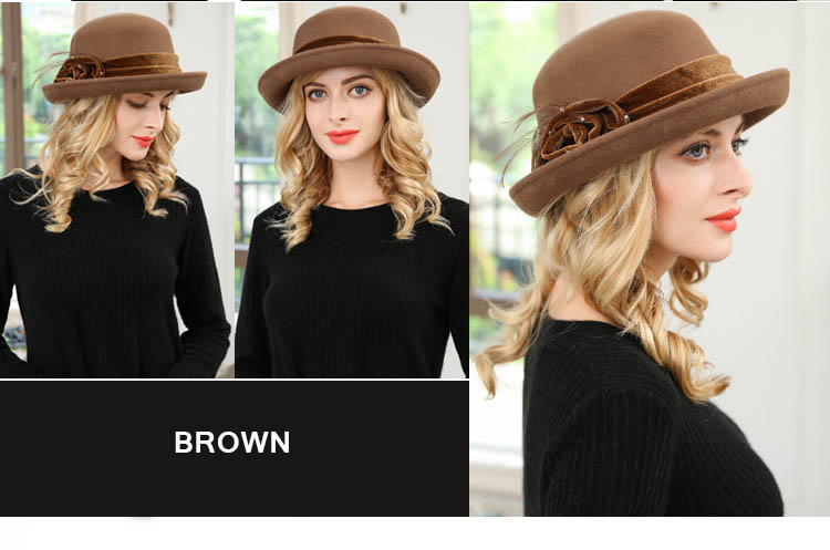 ladies hat fedora