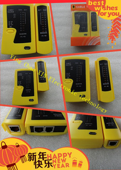 2016 year NEW Network Lan Cable Tester Cat 5 / Cat 5e / Cat 6 / UTP cables with RJ-11 & RJ-45 10PCS/LOT DHL Free shipping