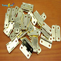 Fast Shipping Hardware hinge box 1 inch rounded copper hinge 24*20mm wooden gift glass cabinet hinge