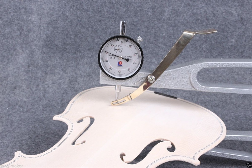 luthier tool Violin making tools dial indicator violin thickness measure