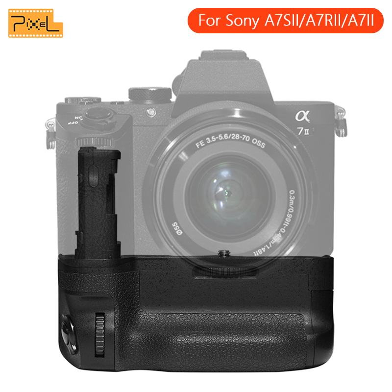 Pixel AG C2 Professional Vertical Battery Grip Compatible For NP FW50 For Sony A7SII A7RII A7II