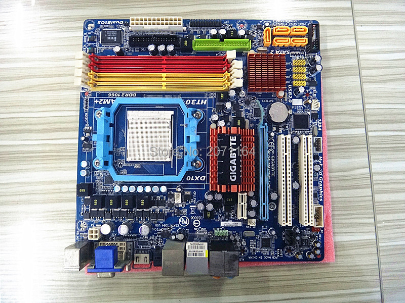 Free shipping 100% original motherboard for Gigabyte GA-MA78GM-S2H DDR2 AM2/AM2+ MA78GM-S2H Desktop mainboards