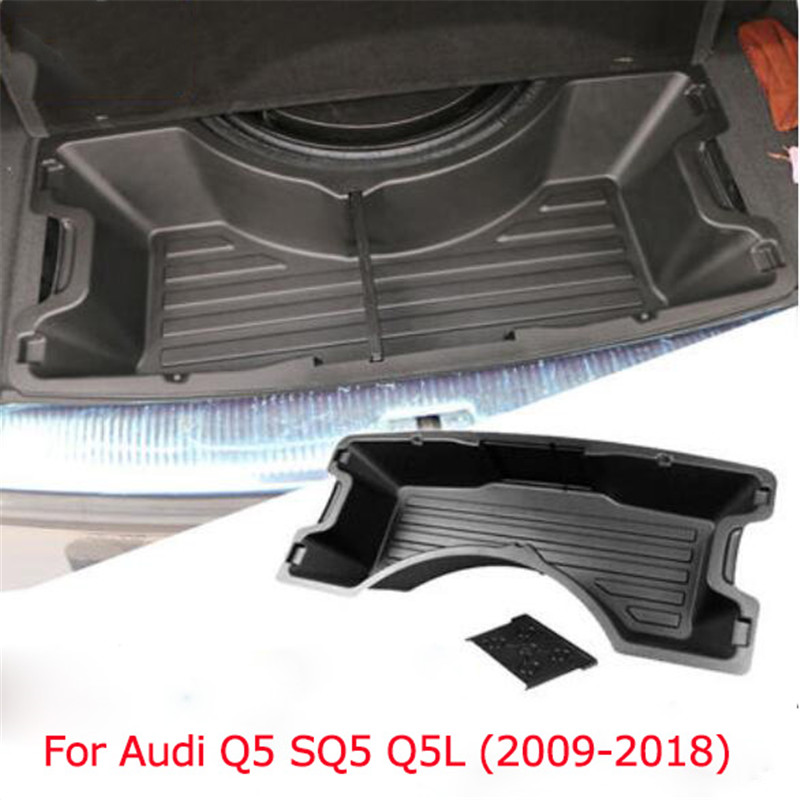 New Car styling plastic tank trunk pallet storage box storage tank Tray case for Audi Q5