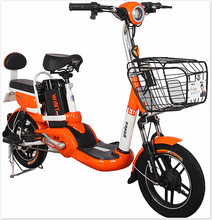 Hcgwork Yadea High Quality Lithium Battery Electric Scooter Bike Bicycle 48v 12ah Famous Brand In China