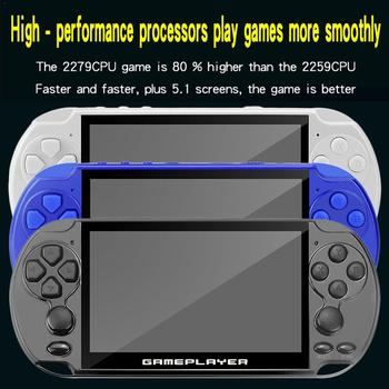 16G Handheld Game Console With 5.1 Inch Screen 128-bit Arcade Kids Nostalgic Game Player 1