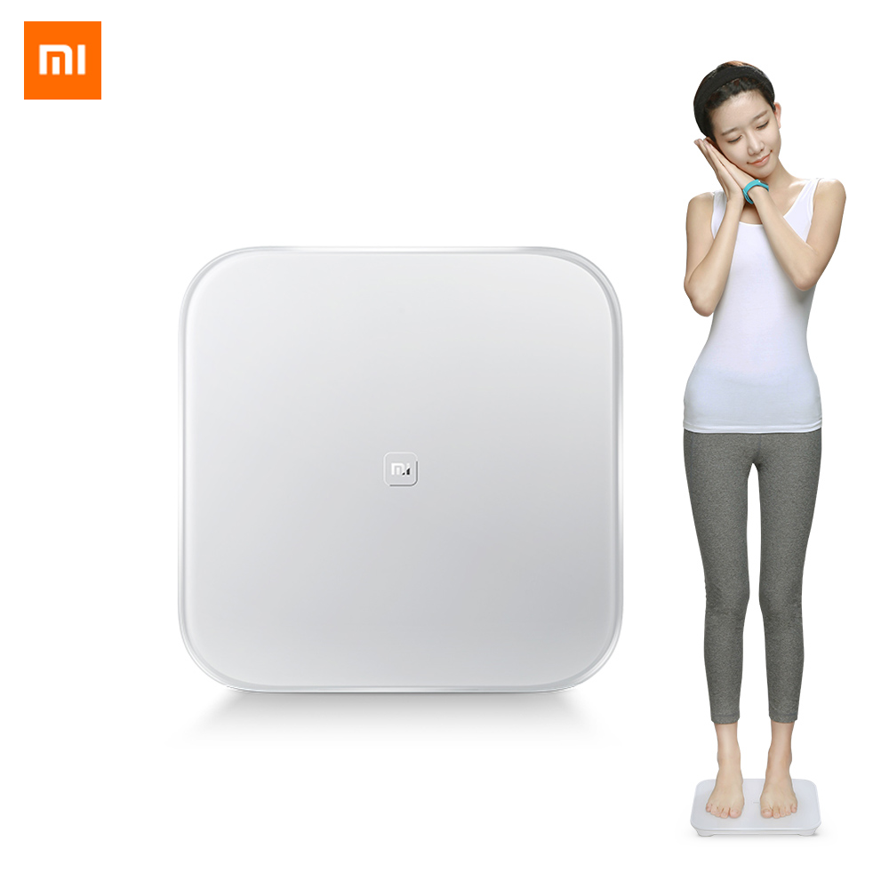 Original Xiaomi Smart Weight Scale Mi Smart Health Weighing Scale Digital  BMI Scale Bluetooth 4 0 Connect with Mifit APP KG LB
