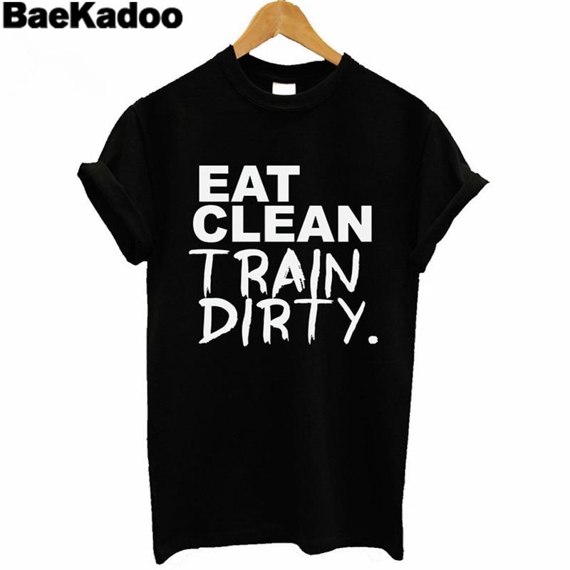 Tops & Tees Baekadoo Lady White Black Tops Harajuku Casual Loose T-shirt Hipster Street Tee Strengthening Sinews And Bones