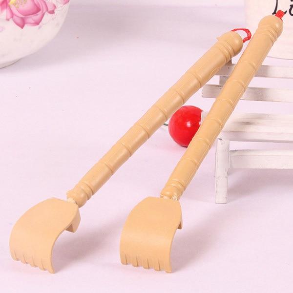 Extensible dos griffoir bambou en bois télescopique Flexible Anti démangeaison auto masseur griffe Extender MSU99