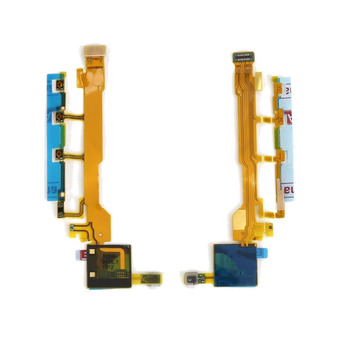 For Sony Xperia Z L36h LT36i C6602 C6603 Power On/Off Volume Key Button Side Key Flex Cable image