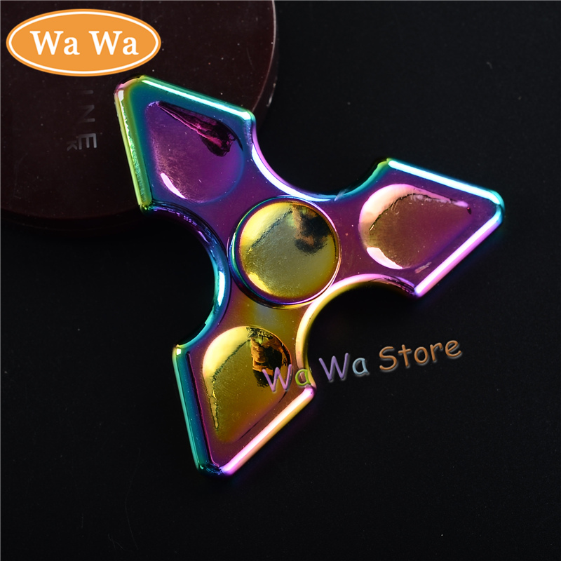 EDC Hand Spinner Colorful Alloy Metal Finger Fidget Toys For Autism and ADHD Handspinner Anxiety Antistress