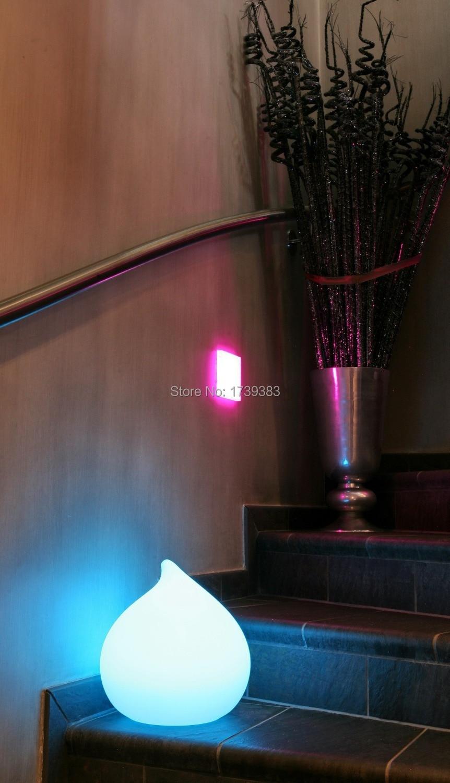 4 Teile Los Alle Wetter Wiederaufladbare Lampe Beleuchtung Tau Led