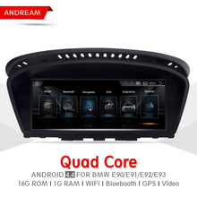 8.8″ Quad Core Android 4.4 Vehicle multimedia player For BMW Series 3 E90 M3 Bluetooth gps navigation Wifi Steering Wheel EW963A