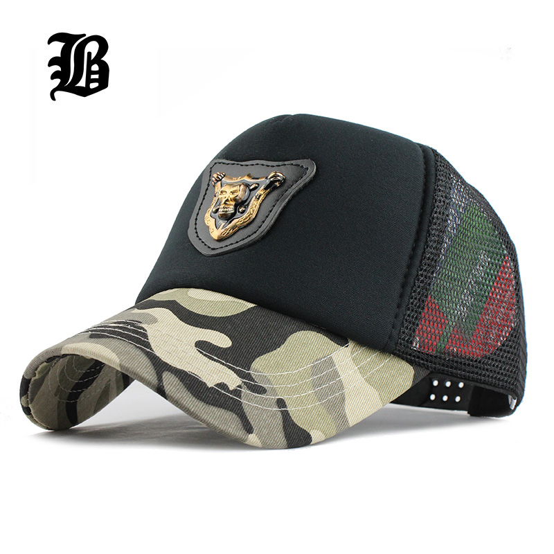 [FLB] Casual skull Baseball Cap Dad Hat Trucker mesh Cap Sports Outdoors Beach Summer Fashion Hats For Women Men Casquette hat voron2017 camouflage hat hat summer summer baseball cap fashion cap men and women hiphop sports hat solid color truck driver cap
