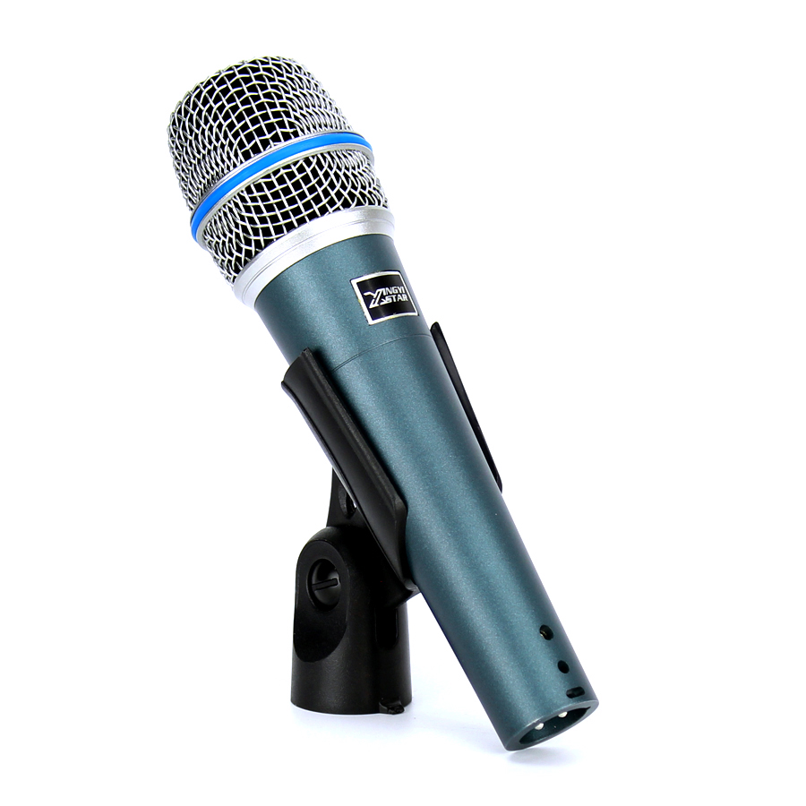 BETA57A Wired Microphone Professional Handheld Dynamic Mic For BETA 57 A Video Recording Audio Mixer Karaoke Microfone Microfono professional handheld dynamic karaoke mic vhf wireless microphone system with receiver for ktv fio microfone mikrofon microfono