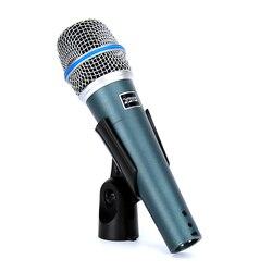 BETA57A Wired Microphone Professional Handheld Dynamic Mic For BETA 57 A Video Recording Audio Mixer Karaoke Microfone Microfono