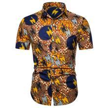 Social Mens Shirts Hip hop Short sleeve Fashion Hawaiian Men Shirt Summer Blouse New arrival