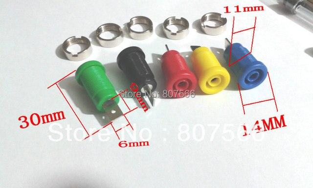 1000 pièces 4mm banane Jack liaison poste pour 4mm banane connecteur