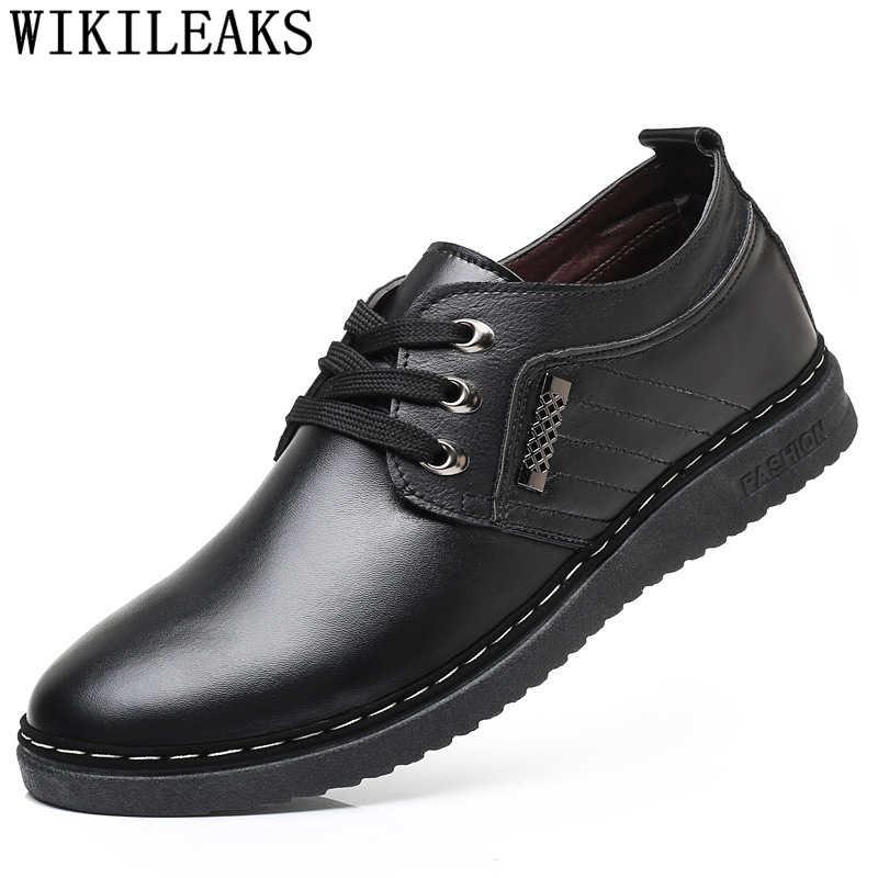 อิตาเลี่ยนรองเท้าหนังผู้ชายรองเท้าสบายๆรองเท้าผู้ชายหรูหรายี่ห้อรองเท้า chaussure homme erkek spor ayakkabi heren รองเท้า tenis