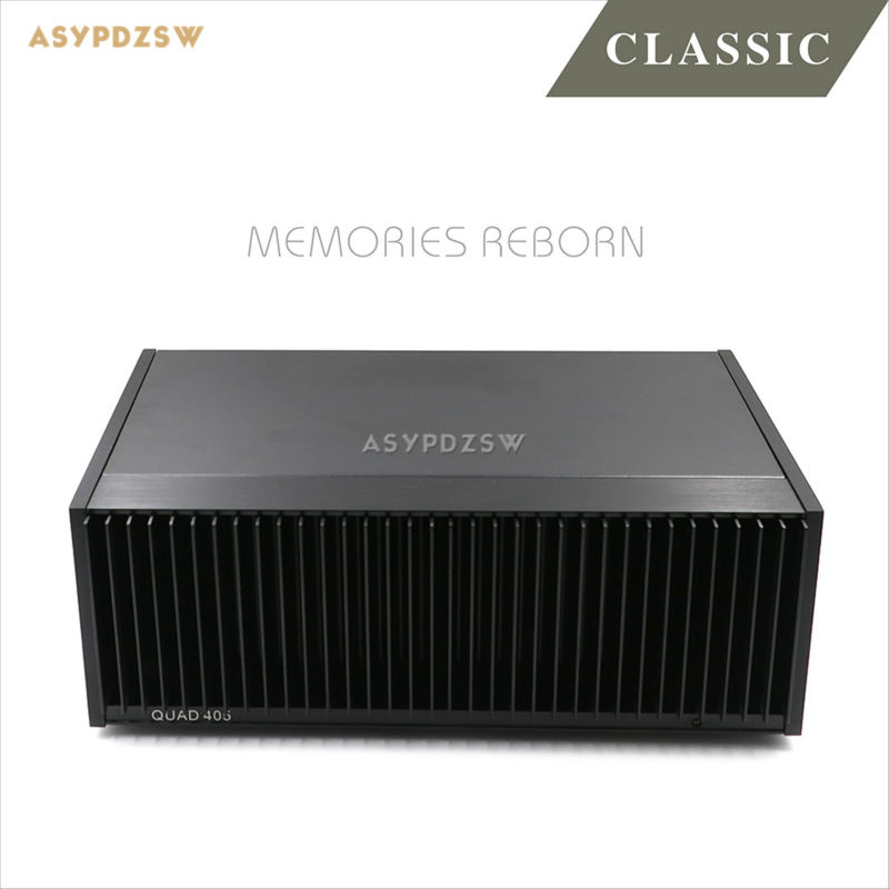 New Finished HIFI Classic QUAD405 CLONE Power amplifier ON MJ15024 100W+100W