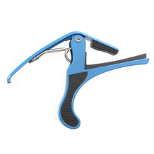 8Pcs Capo fork & Electric, for acoustic (Blue)