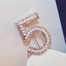 1ddcc60dbc Buy cc brooch pin pearl and get free shipping on AliExpress.com