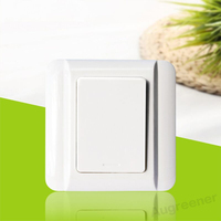 2017 Hot Sale Self Powered Wireless Remote Light Switch No Need Battery 433 Mhz Low Price