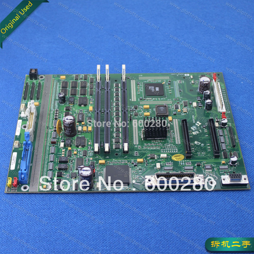 C6071-60001 Main logic PC board for HP Designjet 1050 1055 Original used 6870c 0195a logic lc320wxn saa1 used disassemble