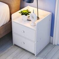 Простой Прикроватные Простой Современный кровать шкаф сборки, содержащей Специальное предложение общежитие спальня кабинет box